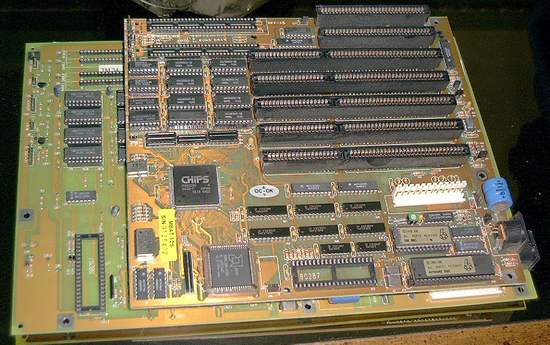 Picture of: 286 mainboard-motherboard with ram and tech talk, comments, help & reviews.