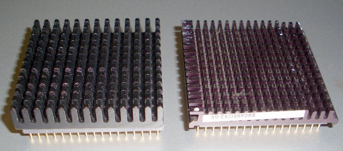 Picture of: 80486 dx2 66 mhz,486 50?, vintage cpu lot of 2 microprocessors  and tech talk, comments, help & reviews.