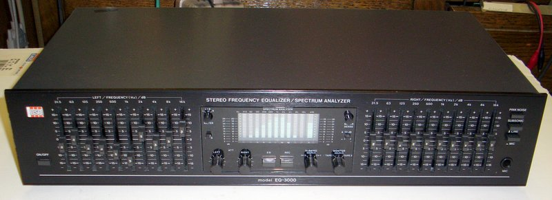 Picture of: bsr eq-3000 10 band equalizer spectrum analyzer ex. and tech talk, comments, help & reviews.