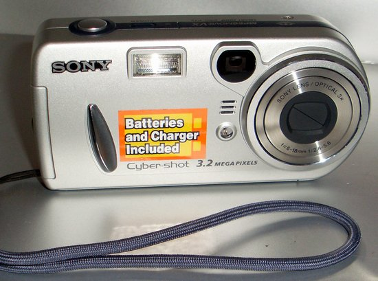 Picture of: sony digital camera cyber-shot dsc-p72 3.2 megapixel as-is and tech talk, comments, help & reviews.