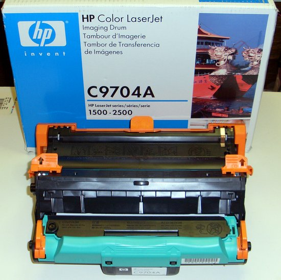 Picture of: hp color laserjet 1500 2500 image drum unit, transfer, hp c9704a and tech talk, comments, help & reviews.