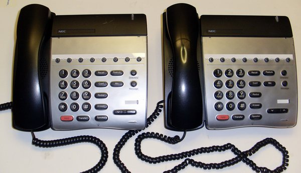 Picture of:  nec dth-8-1 electra elite ipk 8 button telephone black 780067 dth-8-1 and tech talk, comments, help & reviews.