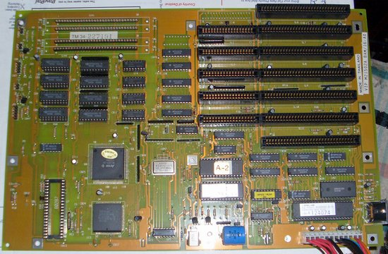 Picture of: vintage vip 80286 pc motherboard 8,16-bit isa 1mb ram 286 at and tech talk, comments, help & reviews.