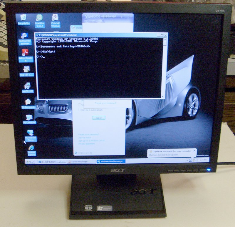 Picture of: 17 inch flat screen monitor acer v173 17 inch lcd tft and tech talk, comments, help & reviews.