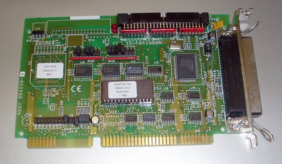 Picture of: adaptec bootable scsi controller card aha-1520a 16-bit isa and tech talk, comments, help & reviews.