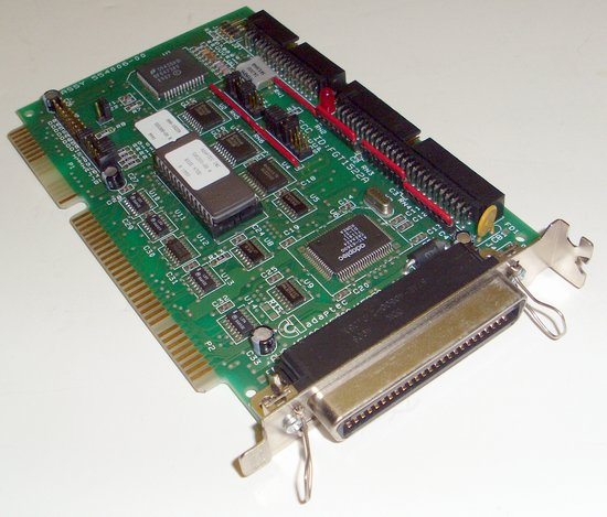 Picture of: adaptec bootable scsi controller card aha-1522a 16-bit isa  and tech talk, comments, help & reviews.