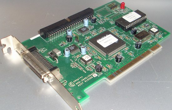 Picture of: adaptec 2940 / 2940u scsi ii 2 pci to fast host adapter interface and tech talk, comments, help & reviews.