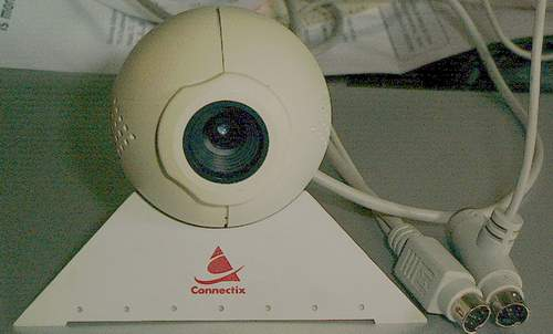 Picture of: mac camera-webcam connectix quickcam eyeball serial / adb and tech talk, comments, help & reviews.