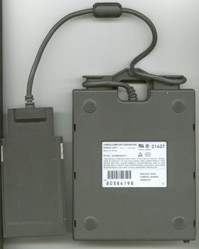 Picture of: compaq contura aero floppy drive / laptop external pcmcia floppy module and tech talk, comments, help & reviews.