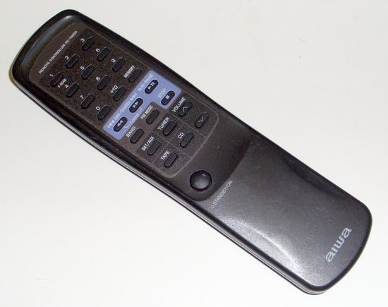 Picture of: aiwa audio component remote control rc-tn250 rctn250  and tech talk, comments, help & reviews.