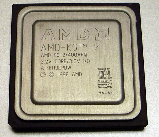 Picture of: amd cpu socket 7 k6-2 400 afq processor and tech talk, comments, help & reviews.