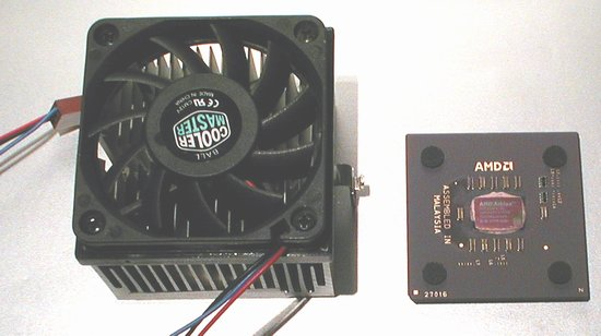 Picture of: amd athlon 950-mhz socket a cpu processor & fan and tech talk, comments, help & reviews.