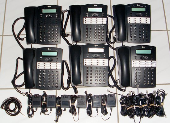 Picture of: at&t 944 4-line business speaker phone intercom att lot of 6 and tech talk, comments, help & reviews.