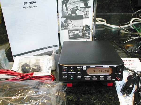 Picture of: uniden bc700a bc 700a 800 mhz police scanner and tech talk, comments, help & reviews.