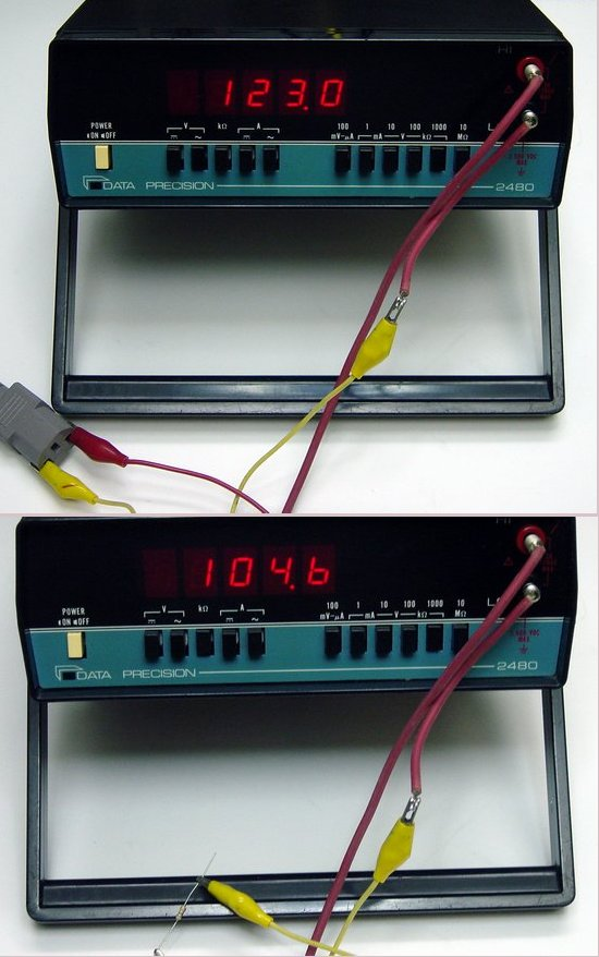 Picture of: data precision 2480  digital multimeter  bench top tested  and tech talk, comments, help & reviews.
