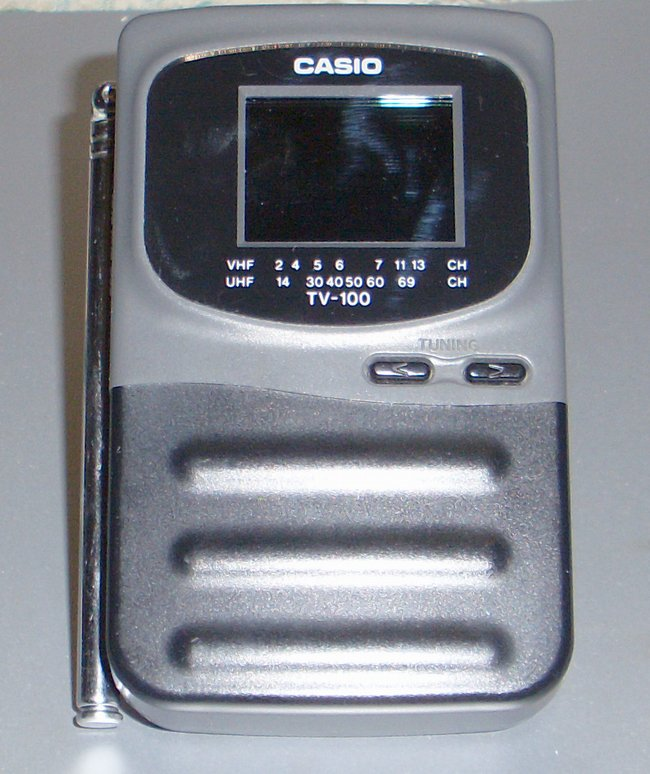 Picture of: casio tv-100 1.5 screen lcd color portable miniature tv and tech talk, comments, help & reviews.