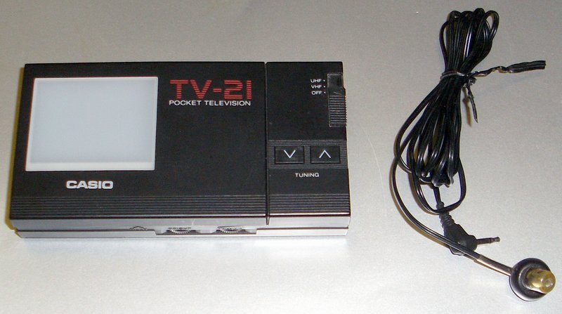 Picture of: casio tv-21 pocket tv vintage collectible tv21 and tech talk, comments, help & reviews.