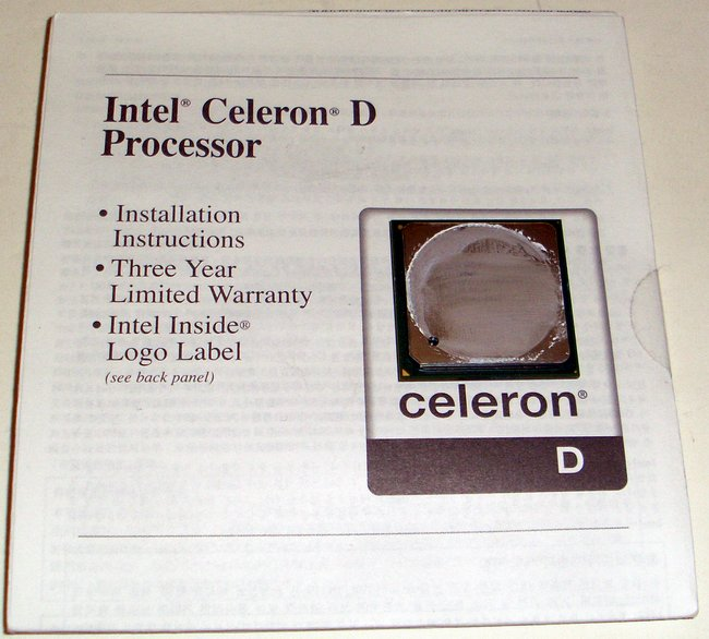 Picture of: intel celeron d 1.8 ghz 128 / 400 / 1.75v  sl68d and tech talk, comments, help & reviews.