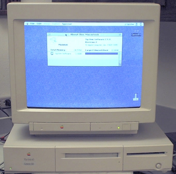 Picture of: apple mac centris 610, 24 mb ram, 260 mb hd, cd rom included and tech talk, comments, help & reviews.