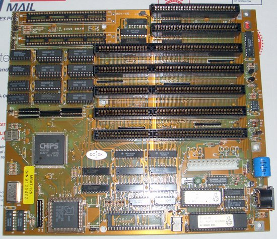 Picture of: vintage chips 80286 pc motherboard 5,16-bit isa 1mb ram 286 baby mini at and tech talk, comments, help & reviews.