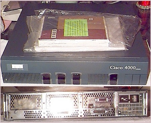 Picture of: cisco series 4000 router and tech talk, comments, help & reviews.