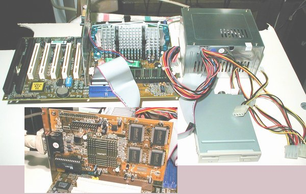 Picture of: soltek sl-67ev piii 450 mhz intel 740 agp fdd atx power supply amd fan and tech talk, comments, help & reviews.