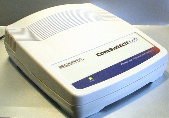 Picture of: telephone line sharing device comswitch 3500 fax voice modem switch and tech talk, comments, help & reviews.
