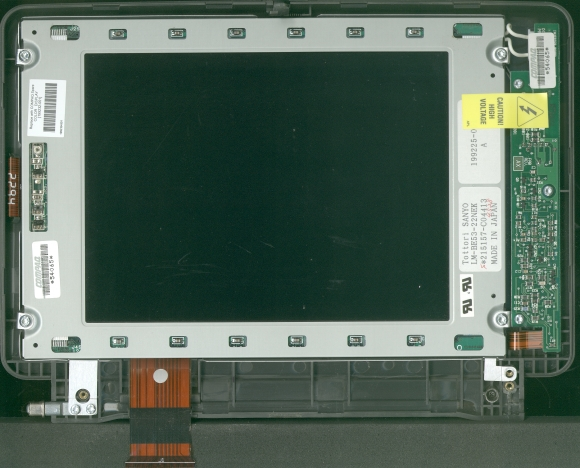 Picture of: compaq contura aero laptop color lcd compaq part # : 199232-001  and tech talk, comments, help & reviews.