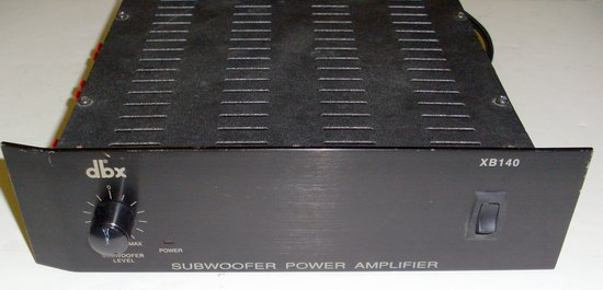 Picture of: dbx xb140 subwoofer amplifier, xb 140 amp and tech talk, comments, help & reviews.