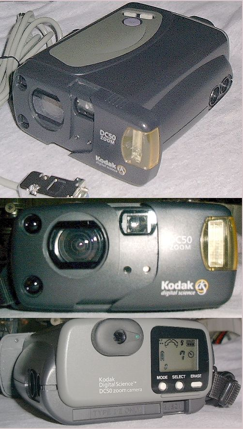 Picture of: kodak dc50 optical zoom digital camera and tech talk, comments, help & reviews.