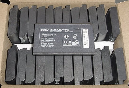 Picture of: dell laptop latitude cp battery module 5081p, 1691p, 75uyf lot