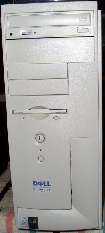 Picture of: dell dimension 4100/1.0-ghz business class computer pentium iii-1000 cpu, 256mb of sdram, 256kb l2 cache and tech talk, comments, help & reviews.