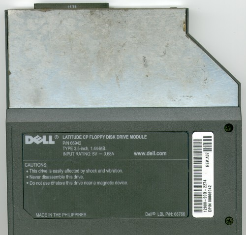 Picture of: dell latitude laptop cp floppy disk drive module and tech talk, comments, help & reviews.