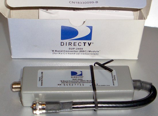 Picture of: direct tv b-band converter sup-2400 bbc module and tech talk, comments, help & reviews.