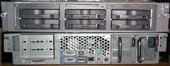 Picture of: compaq proliant server dl380 r02 piii 1,266mhz and tech talk, comments, help & reviews.