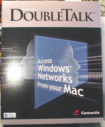 Picture of: connectix doubletalk access windows networks from your mac and tech talk, comments, help & reviews.