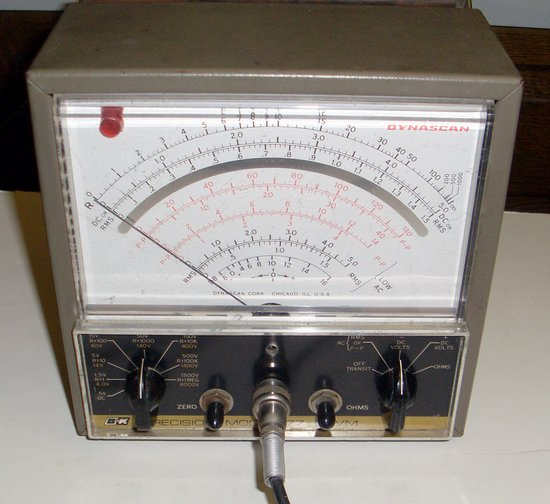 Picture of: dynascan vacuum tube multitester vom multimeter and tech talk, comments, help & reviews.