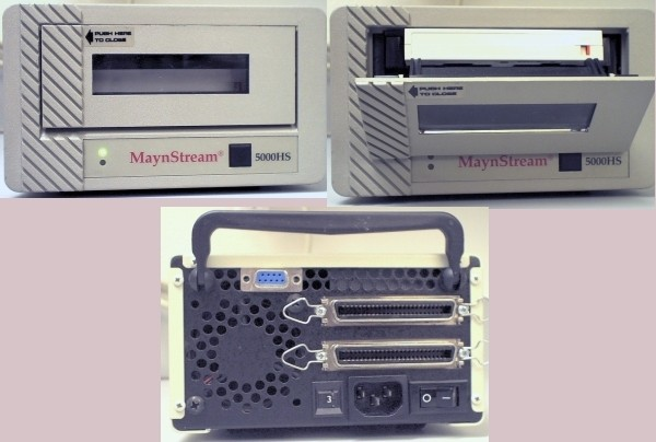 Picture of: external tape backup drive maynard / exabyte 8500 scsi 8 mm and tech talk, comments, help & reviews.
