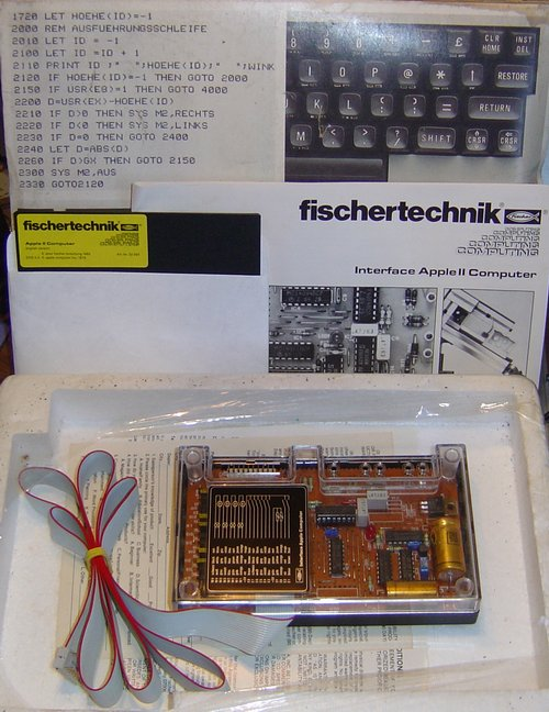Picture of: vintage fischertechnik fischer technik apple ii computer interface 2  and tech talk, comments, help & reviews.