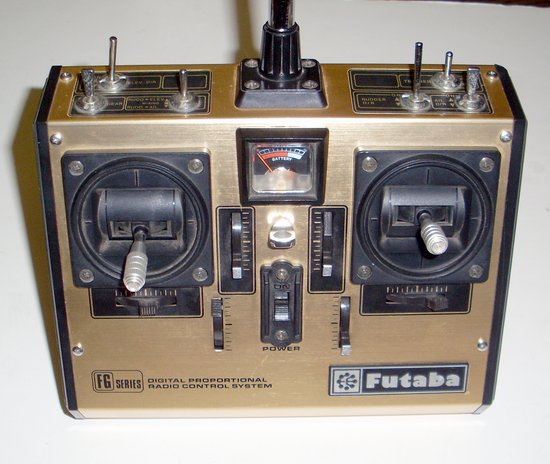 Picture of: vintage futaba fp-t7fg/k 7 channel am radio control transmitter and tech talk, comments, help & reviews.