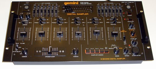 Picture of: gemini pdm-6008 mixer preamp digital sampler pdm6008 and tech talk, comments, help & reviews.