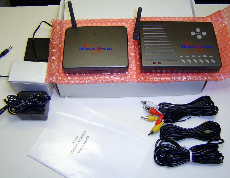 Picture of: grandtec ultimate wireless pc to tv system gwb-4000 and tech talk, comments, help & reviews.