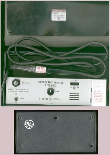 Picture of: ge h-10b halogen leak detector and tech talk, comments, help & reviews.