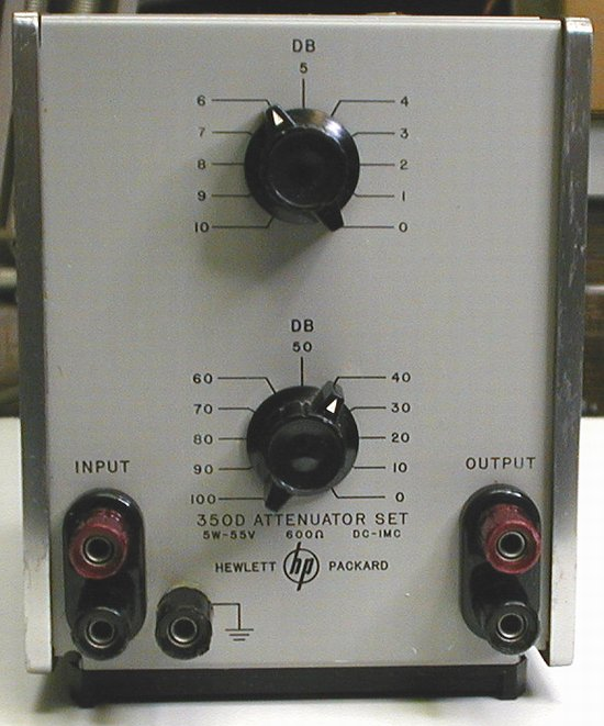 Picture of: hp agilent 350d attenuator set dc - 1mhz and tech talk, comments, help & reviews.