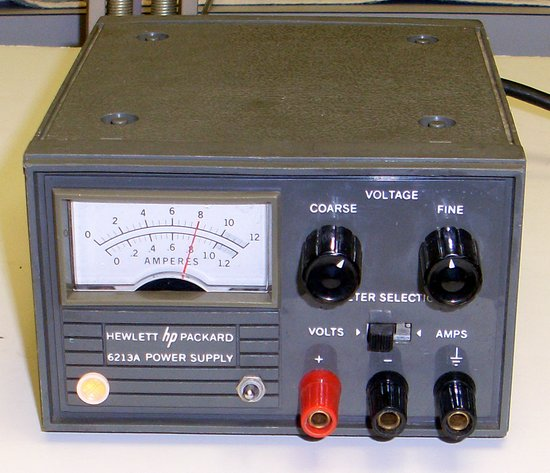 Picture of: 0-10v,1a hp,agilent 6213a, variable dc power supply hp6213a and tech talk, comments, help & reviews.