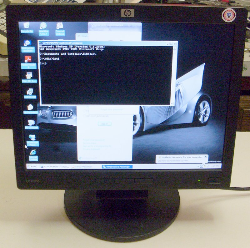 Picture of: hewlett packard l1506 15 lcd tft monitor flat panel hp and tech talk, comments, help & reviews.