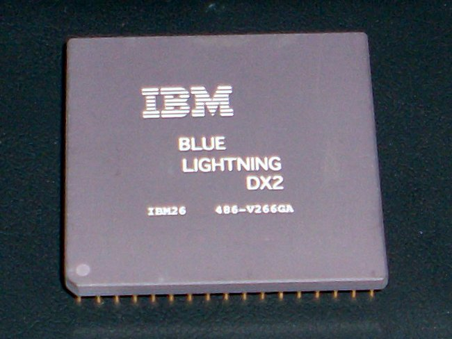 Picture of: cpu 486-v266ga ibm blue lightning 80486 dx2 processor and tech talk, comments, help & reviews.