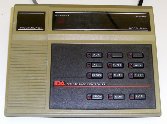 Picture of: ida model 24-66 tone base remote controller and tech talk, comments, help & reviews.