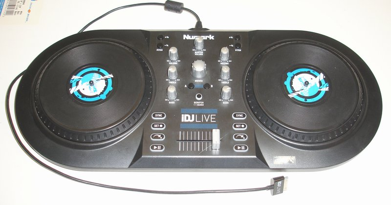 Picture of: numark idj live dj system for ipad, iphone, and ipod touch and tech talk, comments, help & reviews.