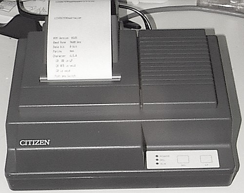 Picture of: receipt printer citizen idp562 rs232 pos and tech talk, comments, help & reviews.
